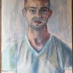 Stephen -pastel & charcoal