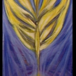 angelic connection during mediation - oil