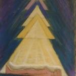 yoga nidra practice pastel 1995