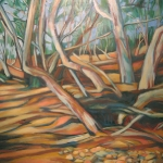 dry river bed - oil