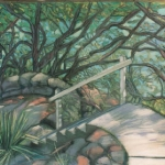 Parsley Bay stairs - pastel.
