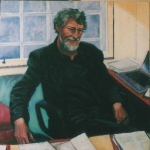 Professor Neil Morven Brown oil/canvas (2006)
