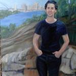 Joshua Zeneurt 2012 oil/canvas
