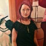 monika-lee - detail of portrait