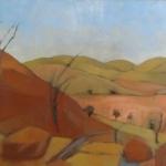 winter heat - oil/canvas