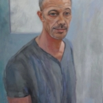 Berynn Schwerdt - actor (oil/canvas)