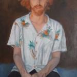 """""""Newtown Prophet"""" - Trent Marden, oil/canvas"""