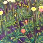 poppies-detail of painting