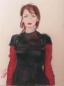 Monika-study for portrait Lee Sisters