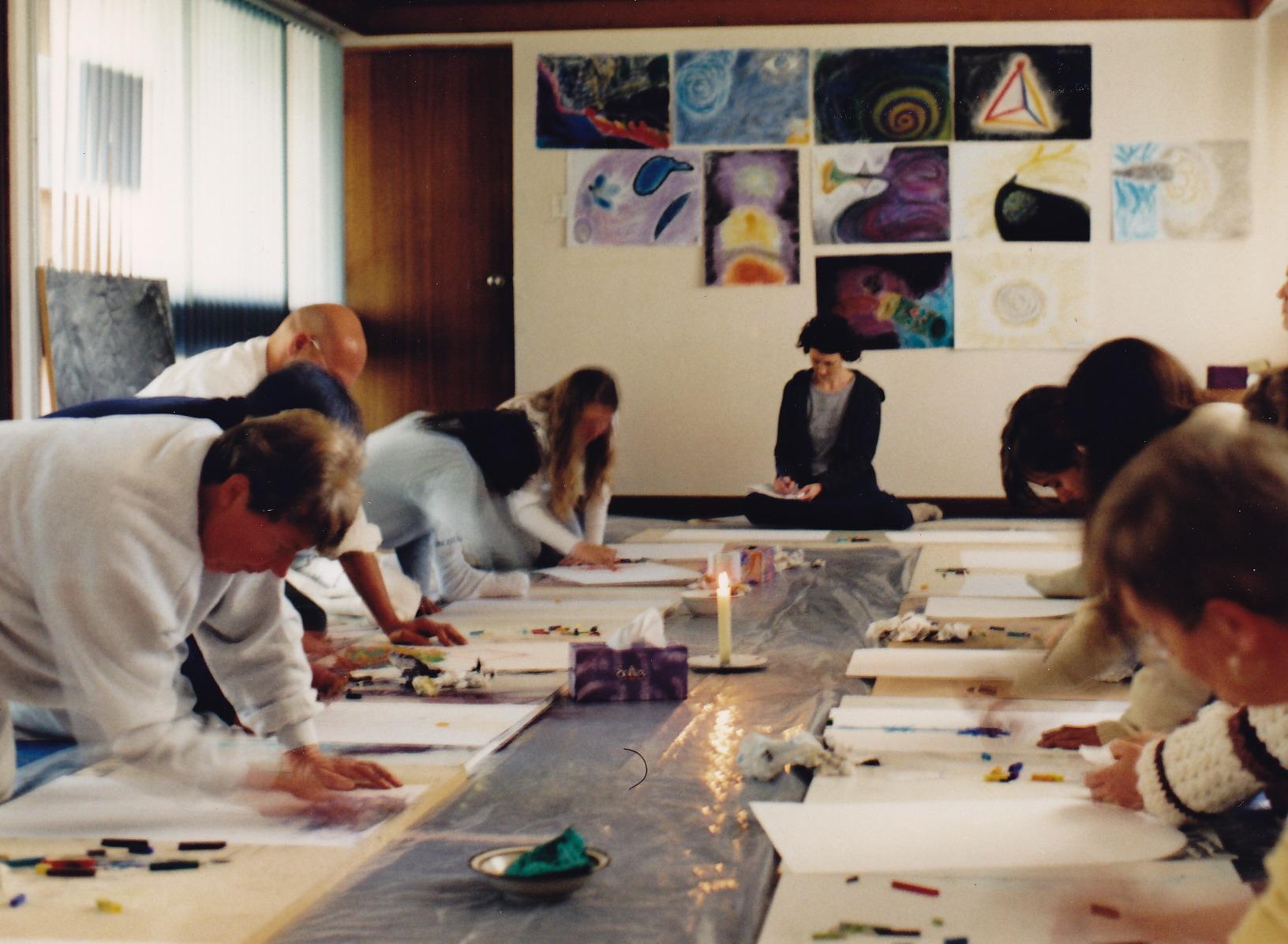 Vision/Art Workshops , Janis Lander